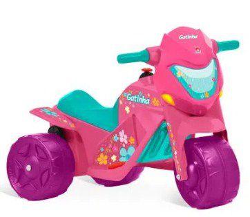 Moto elétrica infantil Ban Moto Gatinha 6V