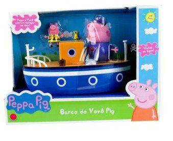 Peppa Pig Barco do Vovô Pig