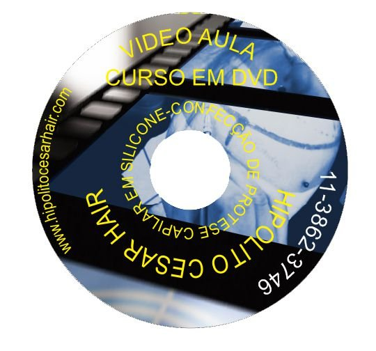 CURSO DE FABRICAÇÃO DE PRÓTESE CAPILAR EM DVD + KIT DE MATERIAL