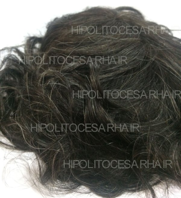 PRÓTESE FULL LACE + SILICONE CABELO NATURAL