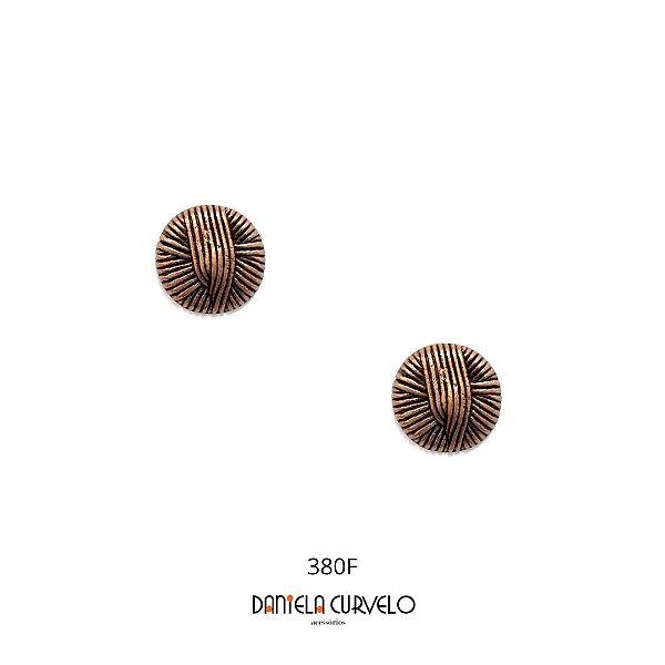 Brinco Bronze Pequeno Redondo - BF380BZ
