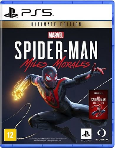 Game Marvel Spider Man Miles Morales Ultimate Edition - PS5