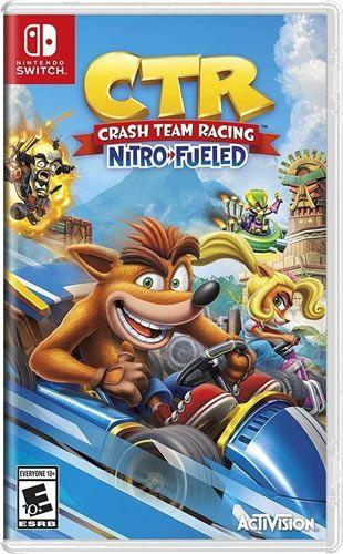 Game CTR Crash Team Racing - Switch