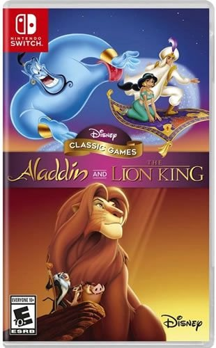 Game Disney Classic Games Aladdin e o Rei Leão - Switch