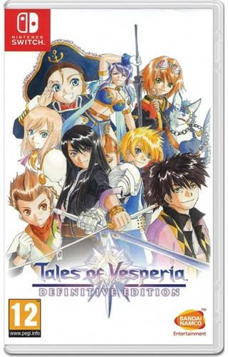 Game Tales of Vesperia Definitive Edition - Switch