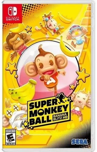 Game Super Monkey Ball Banana Blitz HD - Switch