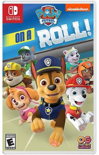Game Patrulha Canina On A Roll ! - Switch