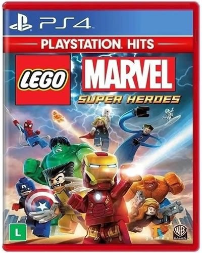 Game Lego Marvel Super Heroes - PS4