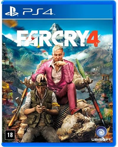 Game FarCry 4 - PS4