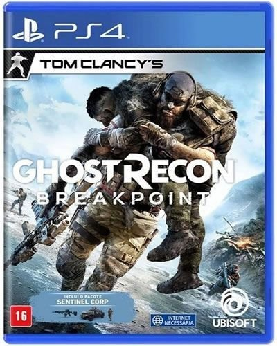 Game Ghost Recon Break Point - PS4