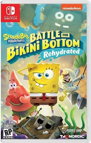 Game Bob Sponja SquarePants Battle For Bikini Bottom Rehydrated - Switch