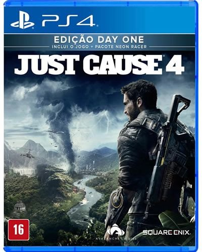 Game Just Cause 4 Edição Day One - PS4