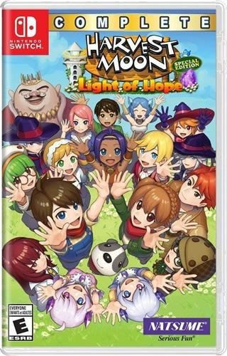Game Harvest Moon Light of Hope Complete Especial Edition - Switch