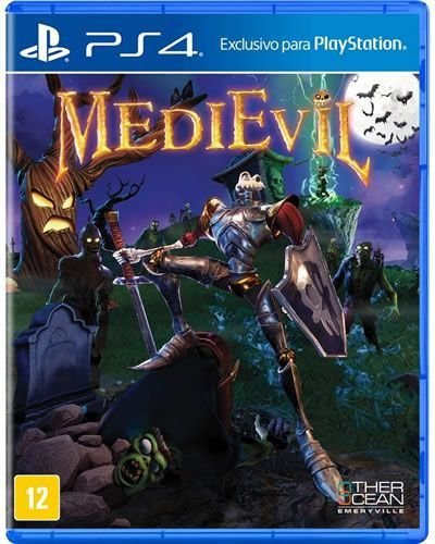 Game MediEvil - PS4