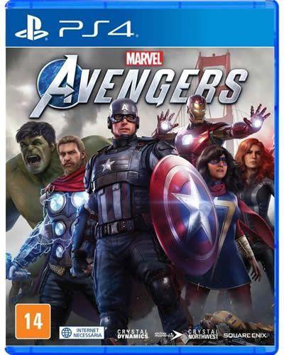 Game Marvel Avengers - PS4