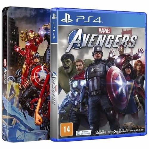 Game Marvel Avengers Steelbook Edition - PS4