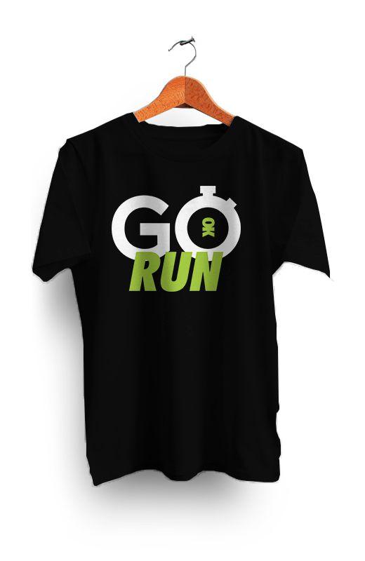 Camiseta GO RUN