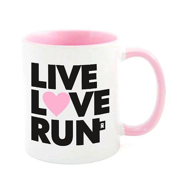 Caneca Live L♥ve Run