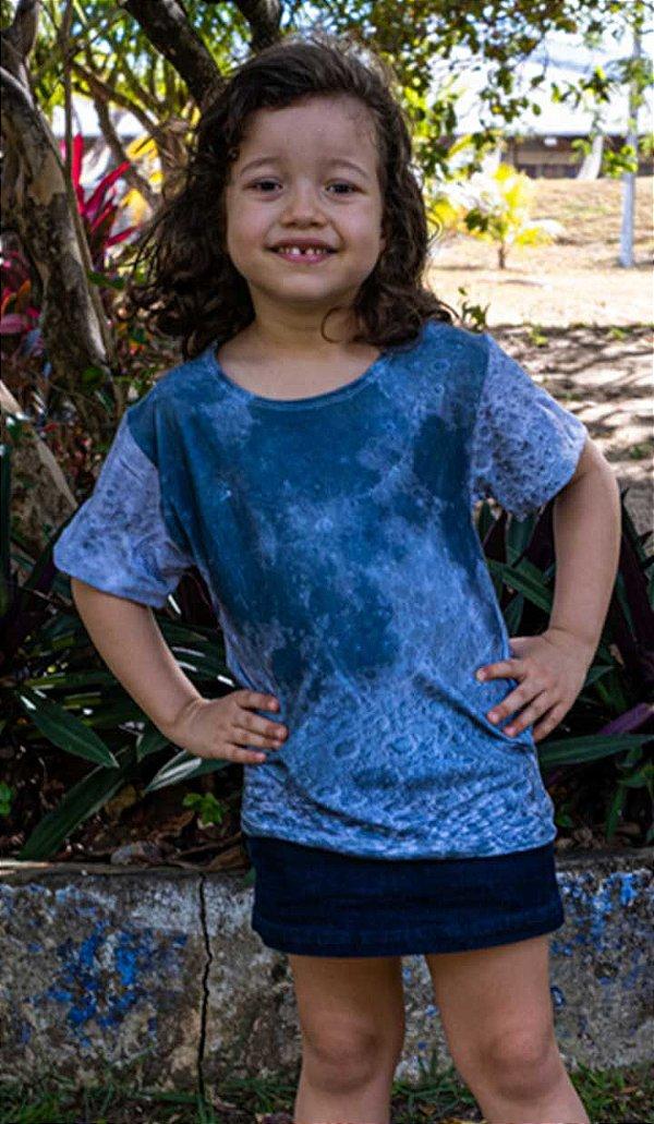 Lua | Linha Kids | Camiseta Astronômica Infantil