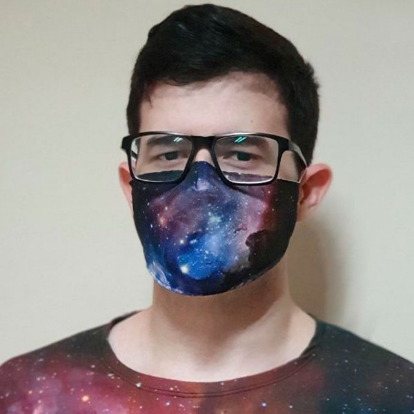 Nebulosa Carina | Máscara Personalizada Astronômica