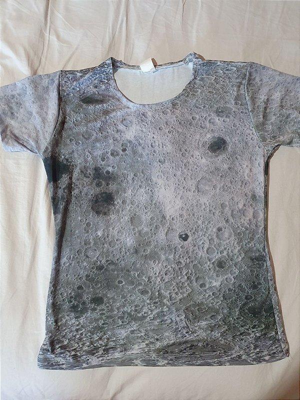 Lua | Linha Kids OUTLET M infantil | Camiseta Astronômica Infantil
