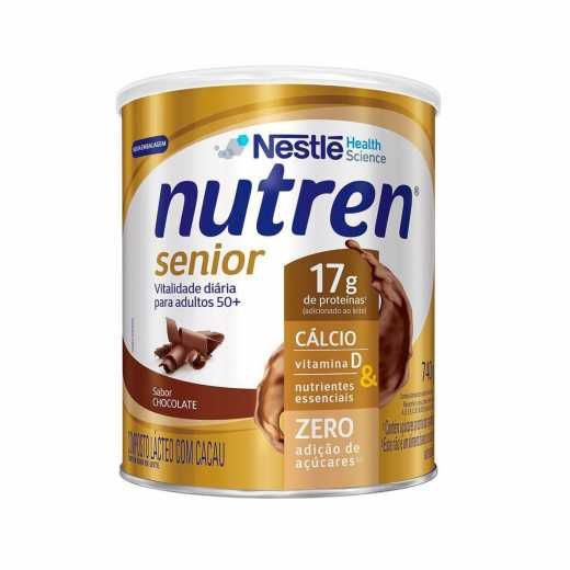 Nutren Senior Pó - Chocolate - 740g