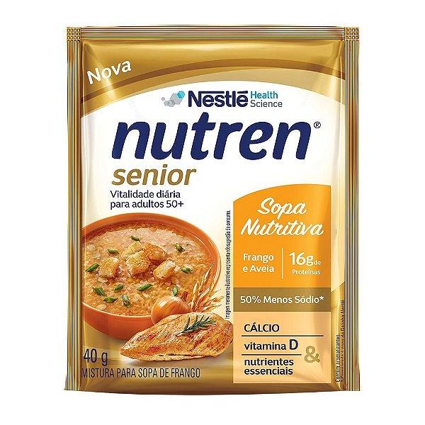 Nutren Senior Sopa de Frango com Aveia - 40g