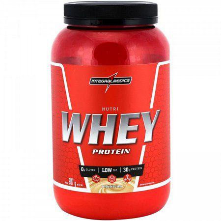 Nutri Whey Protein Baunilha - 907g Integralmédica