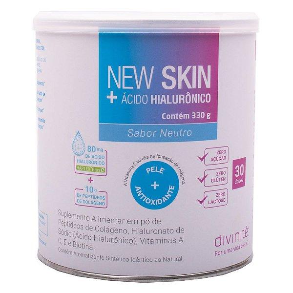 New Skin + Ácido Hialurônico Divinitè - Sabor Neutro - 330g