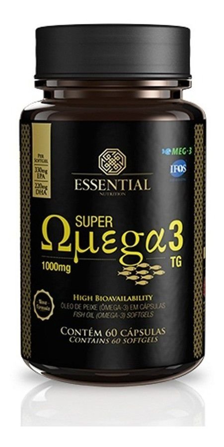 Super Omega 3 Essential - c/ 90 Caps 1000mg