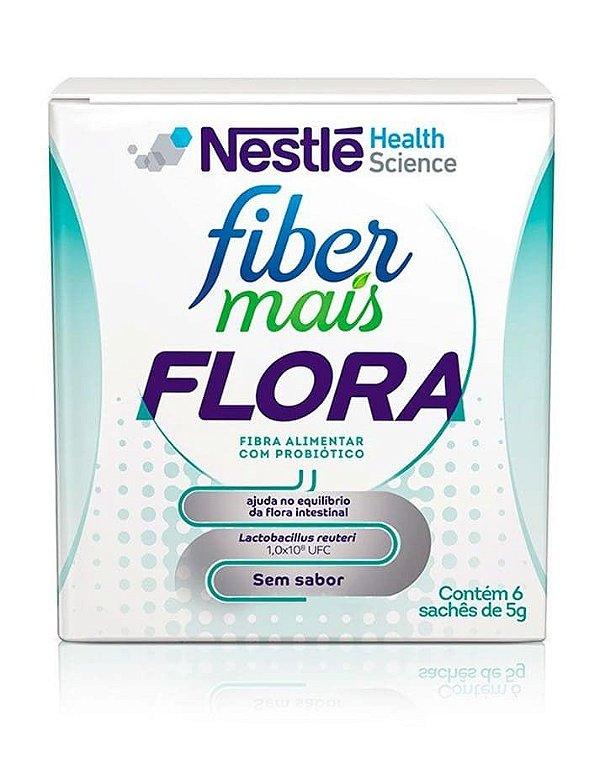 Fiber Mais Flora c/ 6 sachês