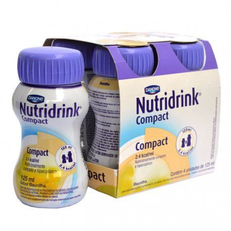 Nutridrink Compact - 125ml pack com 4 unidades