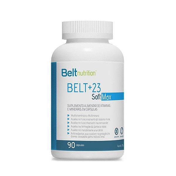 Belt +23 Soft Max - 90 Cápsulas - Belt Nutrition