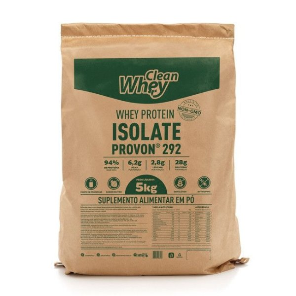 Clean Whey Isolado Classic - 5kg