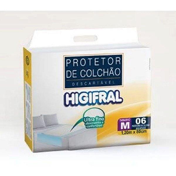 Lençol Protetor de Colchão Descartável- Higifral - Médio