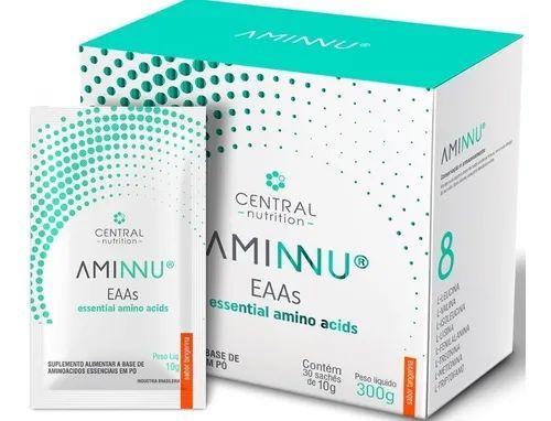 Aminnu 10g Com 30 Sachês Central Nutrition