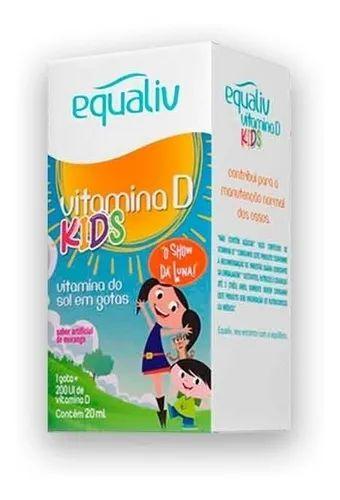 Equaliv Vitamina D Kids em Gotas - 20ml