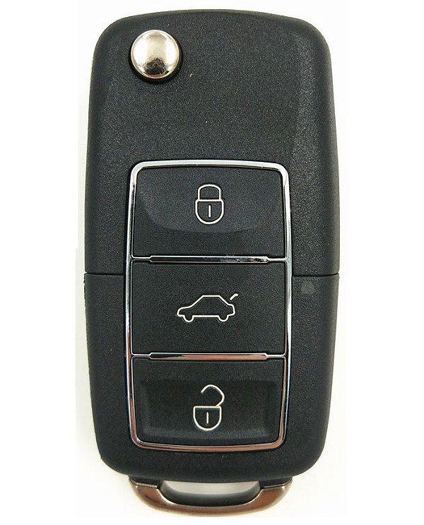 Chave simples codificada para veículo modelo gm chevrolet classic 2001 até 2015