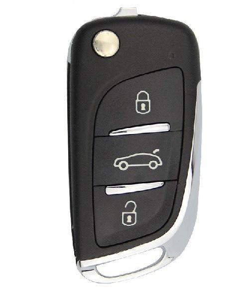 Chave canivete completa para veículo modelo gm chevrolet cobalt 2012 até 2019