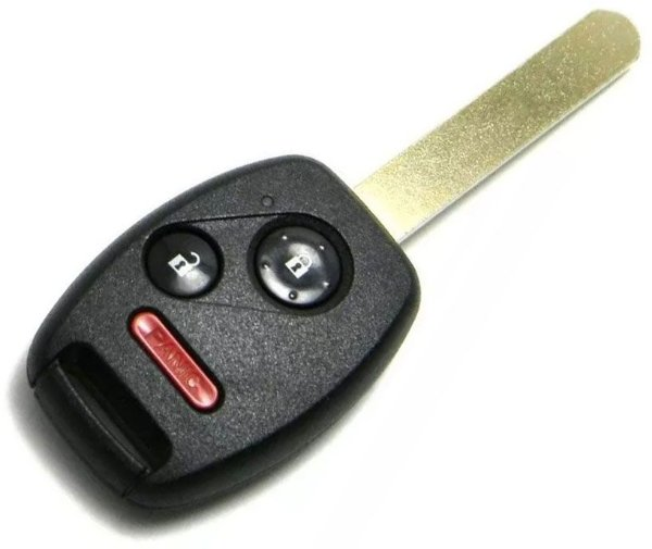 Chave telecomando completa para veículo modelo honda civic 2012 até 2013