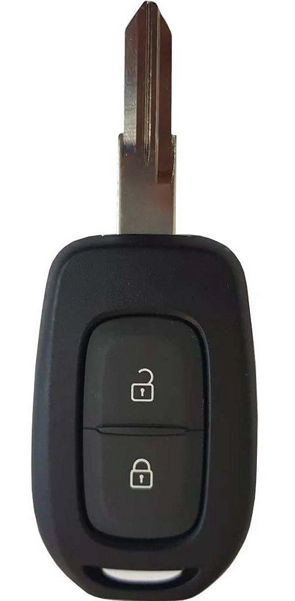 Chave telecomando completa para veículo modelo renault logan 2019