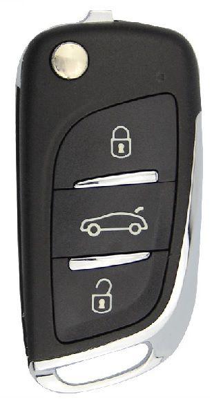 Chave canivete completa para veículo modelo toyota corolla 2009 até 2011