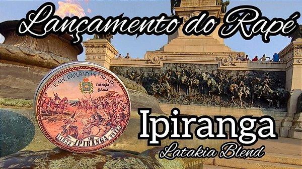 Rapé Ipiranga 1822-2022. Blend de Latakia!
