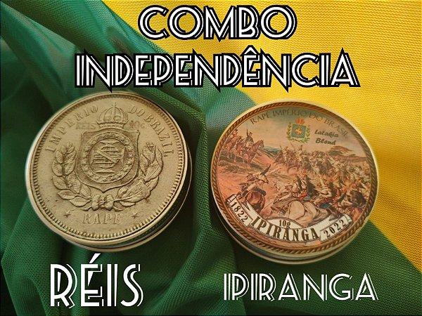 Combo Promocional Indepêndencia: Rapés Réis e Ipiranga