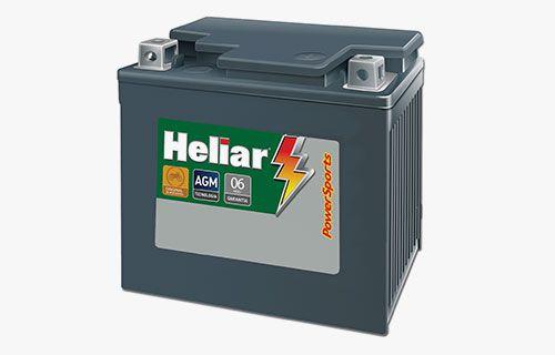 Bateria Heliar PowerSports HTZ5L MOTO