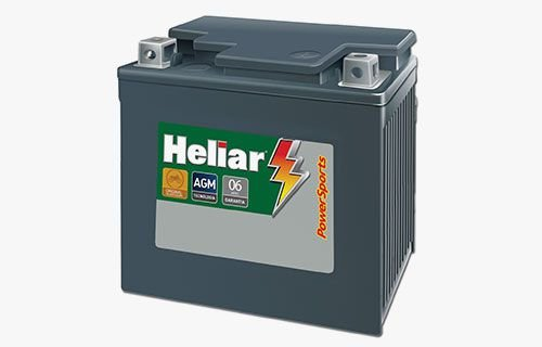 Bateria Heliar PowerSports HTZ7L MOTO