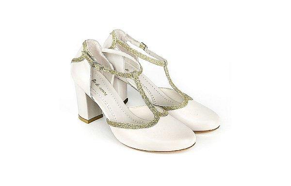 Sapato Marie - Off White