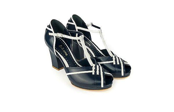 Sapato Pierrot - Azul Marinho