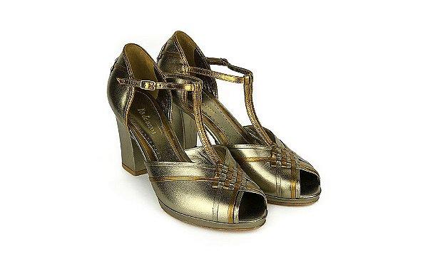 Sapato Pierrot - Prata Velho