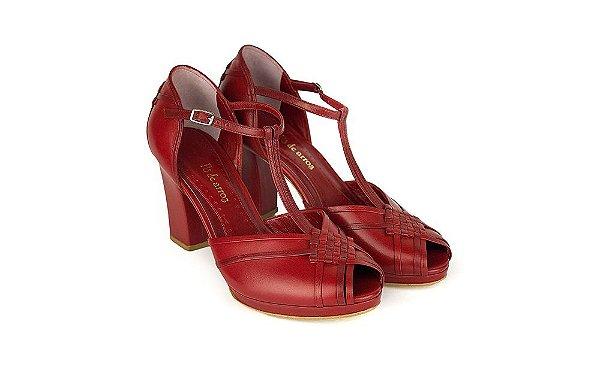 Sapato Pierrot - Vermelho
